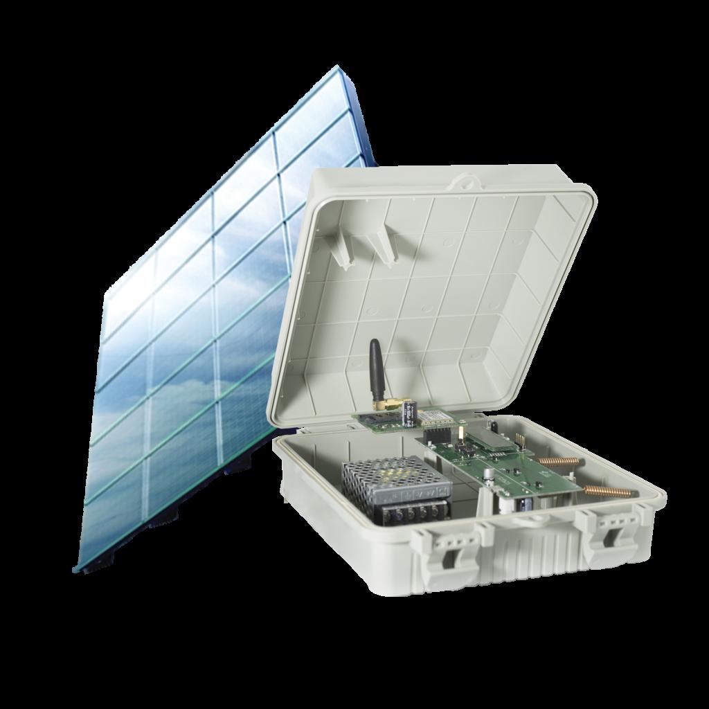 concentratore ad alimentazione solare